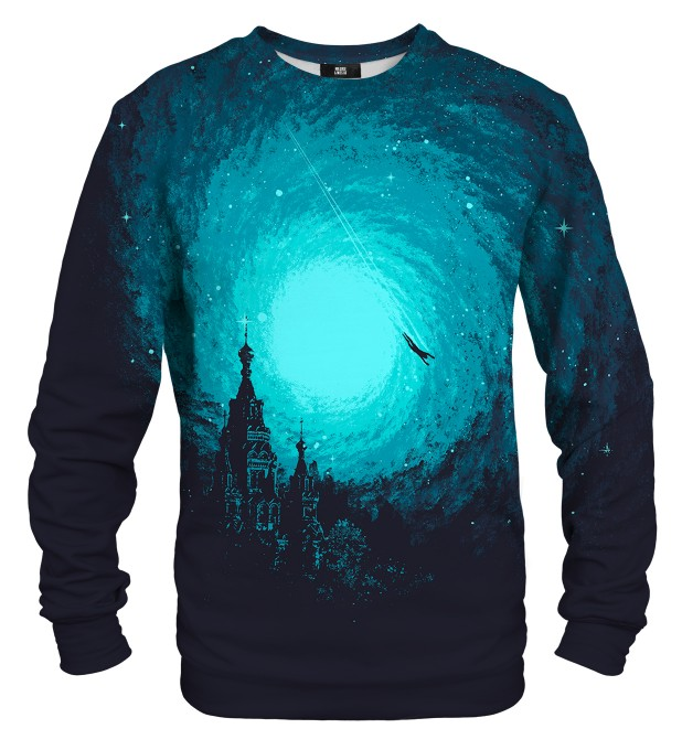 Flying man sweater Thumbnail 1