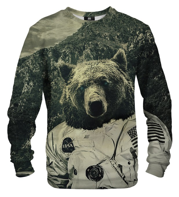NASA bear sweater Thumbnail 1