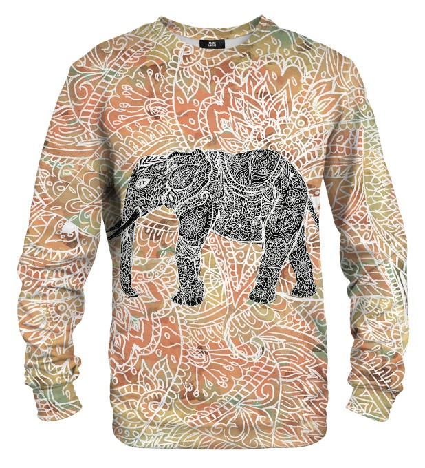 Indian elephant sweater Miniature 1