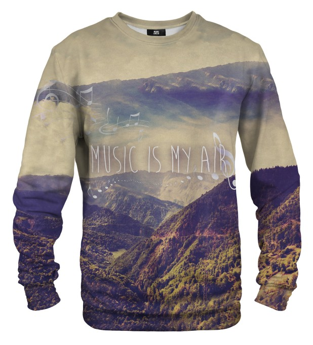 Music is My Air sweater Thumbnail 1
