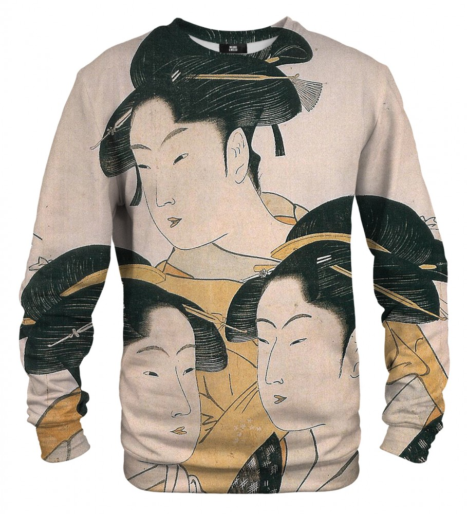 Mr. Gugu & Miss Go, Japanese Girl sweater Image $i