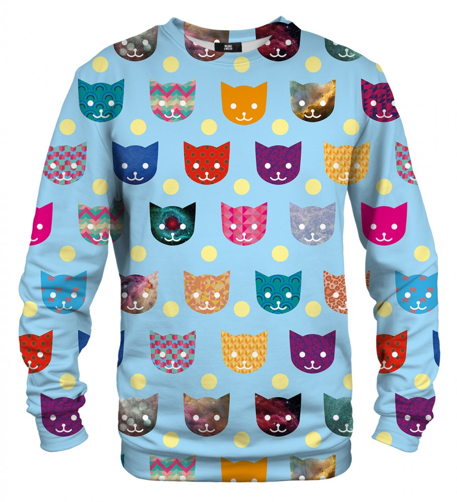 Mr. Gugu & Miss Go, Funny Cats sweater Image $i