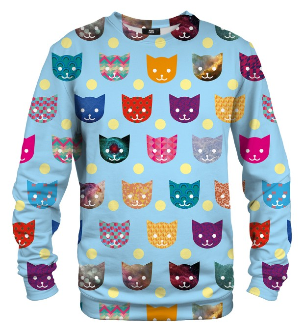 Funny Cats sweater Miniature 1