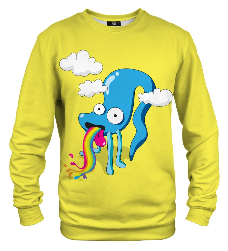 Mr. Gugu & Miss Go, Rainbow monster sweater Image $i