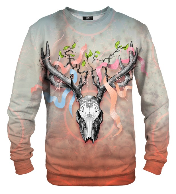 Deer Skull sweater Miniatura 1