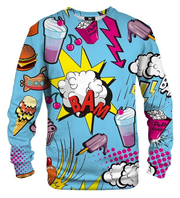 Comics sweater Thumbnail 1