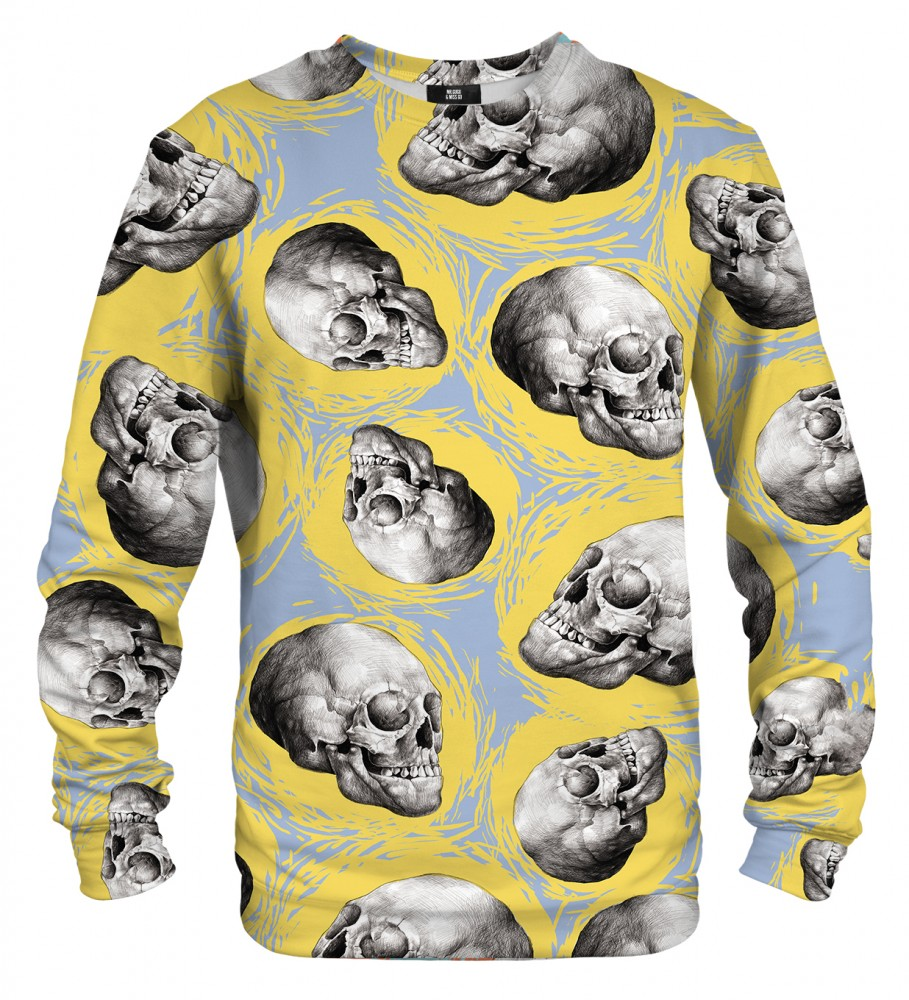 Mr. Gugu & Miss Go, Sketch Skull sweater Image $i