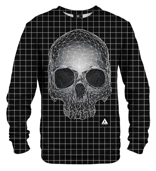 Square skull sweater Miniature 1