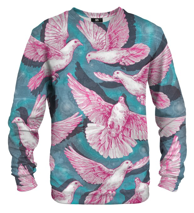 Pink Doves sweater Thumbnail 1