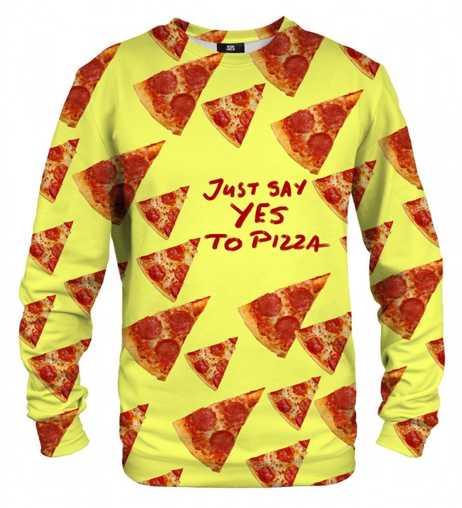 Mr. Gugu & Miss Go, Yes to pizza sweater Фотография $i