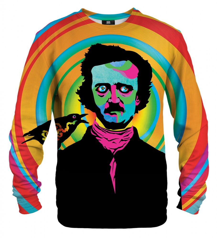 Mr. Gugu & Miss Go, Edgar Poe sweater Image $i
