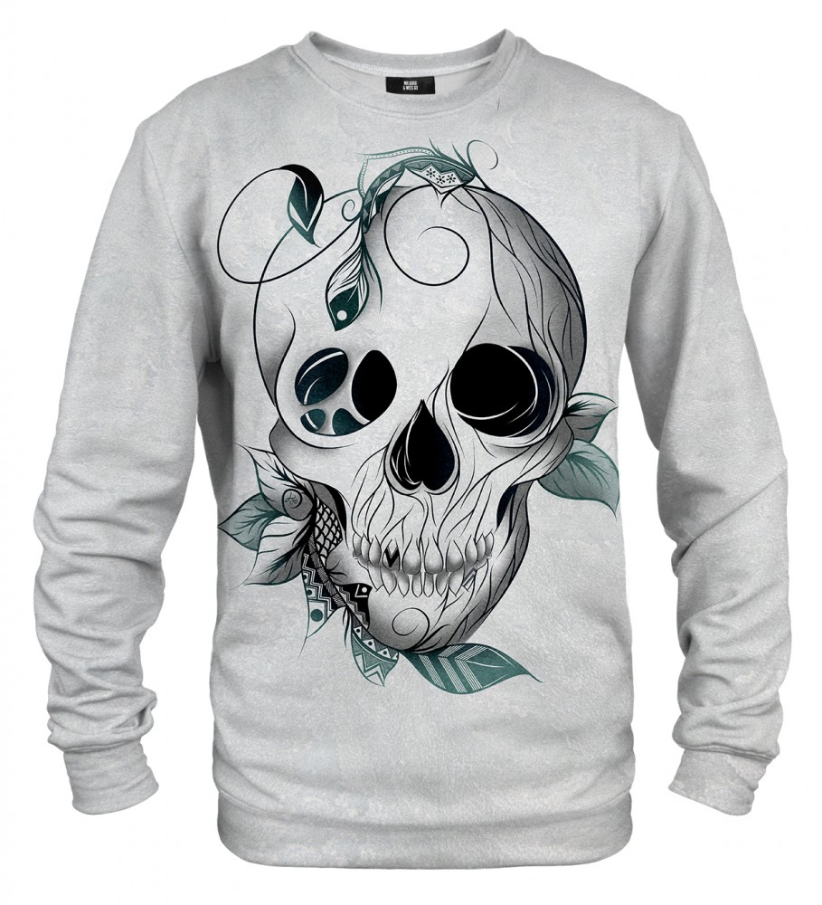 Mr. Gugu & Miss Go, Leaf skull sweater Image $i