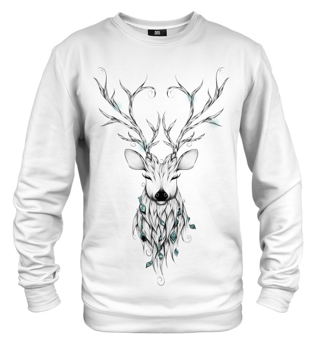Deer sketch sweater Thumbnail 1