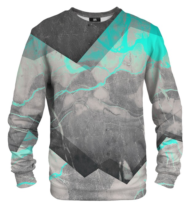 Marble Cyan sweater Thumbnail 1