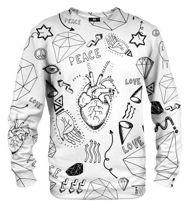 Love icons sweater Thumbnail 1