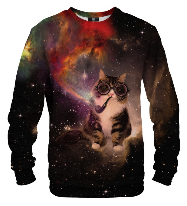 Spacepipe Nebula sweater Thumbnail 1