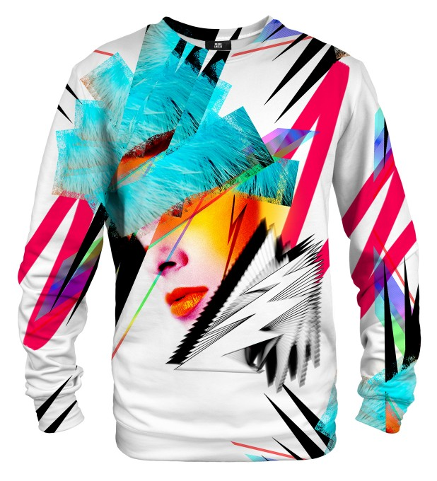 Pop-art Face SWEATSHIRT Miniaturbild 1