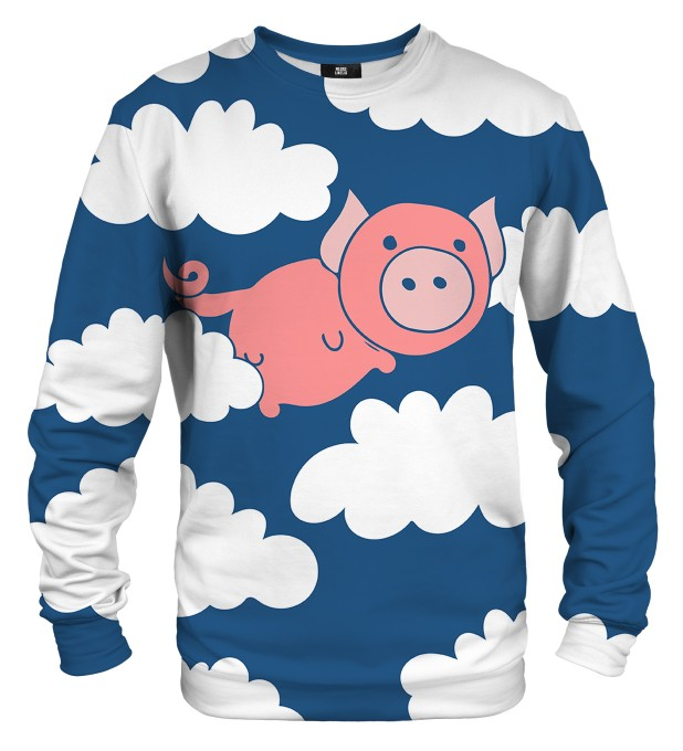 Flying Pigs sweater Miniature 1
