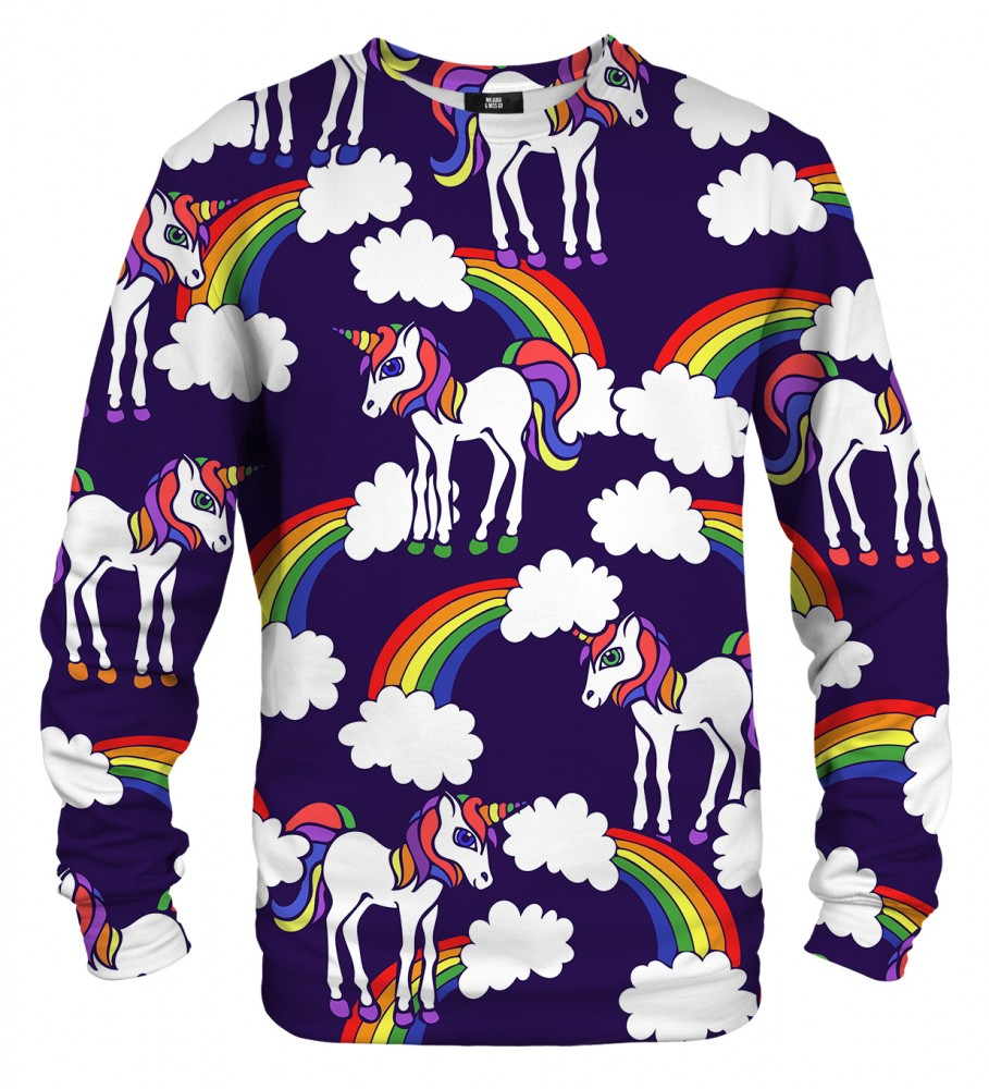 Mr. Gugu & Miss Go, Rainbow Unicorns sweater Image $i