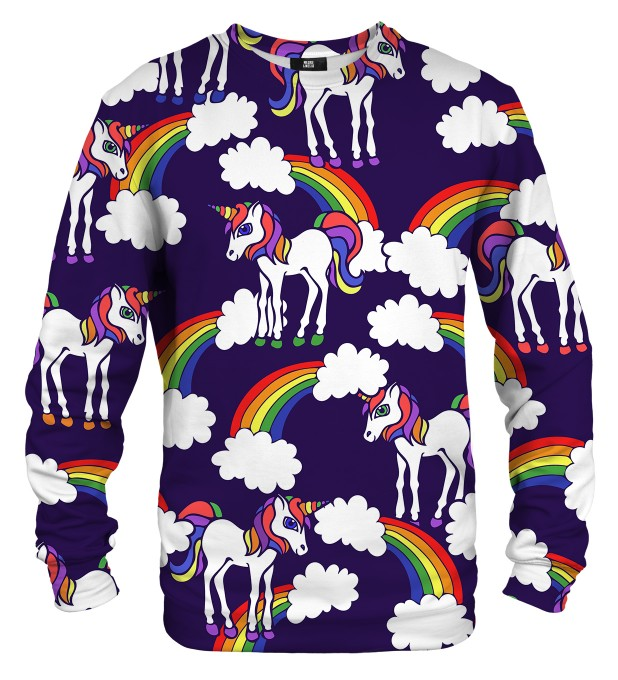 Rainbow Unicorns sweater Miniature 1