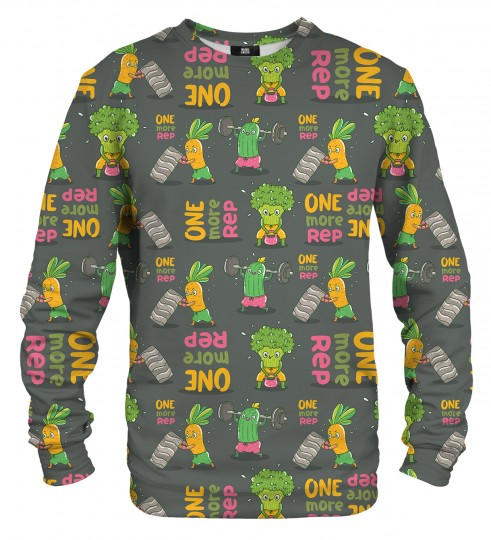 Vegetables Power sweater Miniature 1