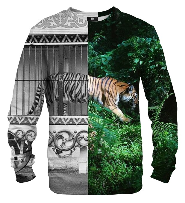 Tiger Cage sweater Thumbnail 1