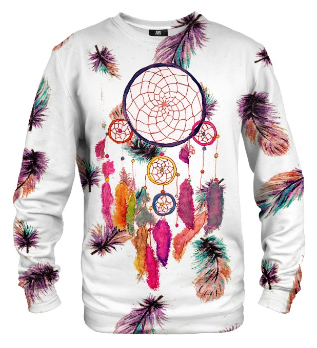 Feathers dreamcatcher sweatshirt Miniaturbild 1
