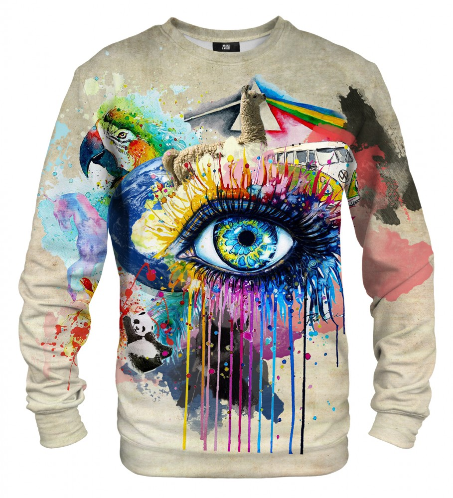 Mr. Gugu & Miss Go, All over print sweater Image $i