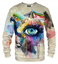 Mr. Gugu & Miss Go, All over print sweater Thumbnail $i