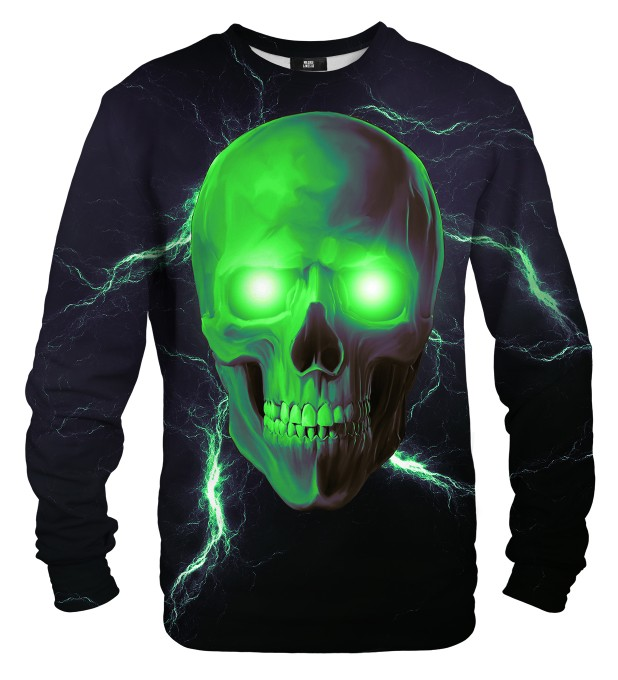 Toxic Skull sweater Miniature 1