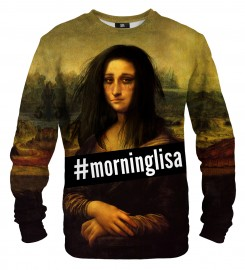 Mr. Gugu & Miss Go, Morning Lisa sweatshirt Miniaturbild $i