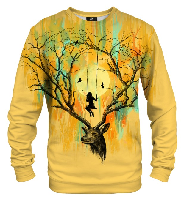 Deer Fantasies sweater Miniature 1