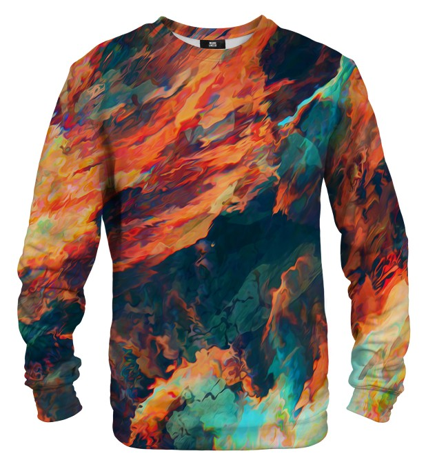 Sky is burning sweater Thumbnail 1