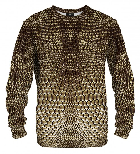 Golden armor sweater Miniature 1