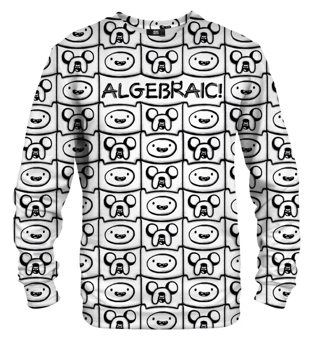 Algebraic black& white pull Miniature 1