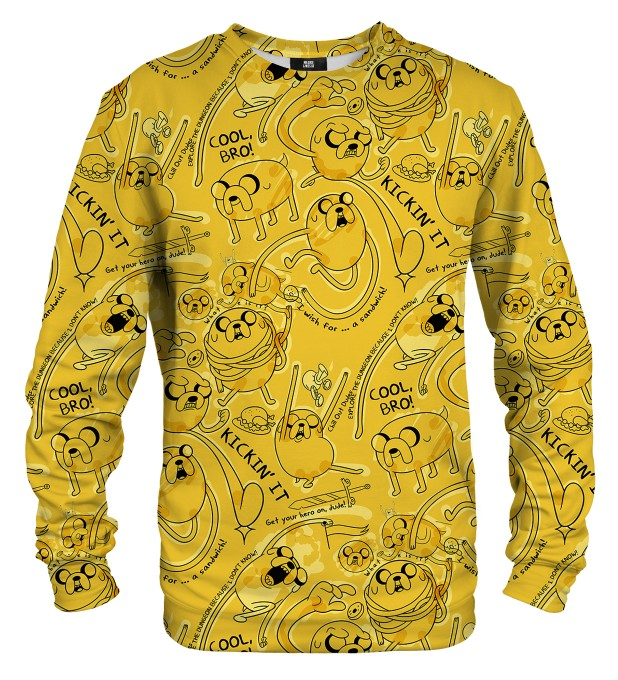 Yellow Friends Sweater Thumbnail 1