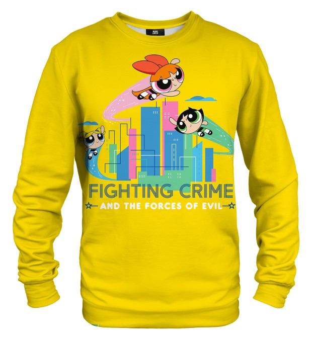 Fighting Crime sweater Thumbnail 1