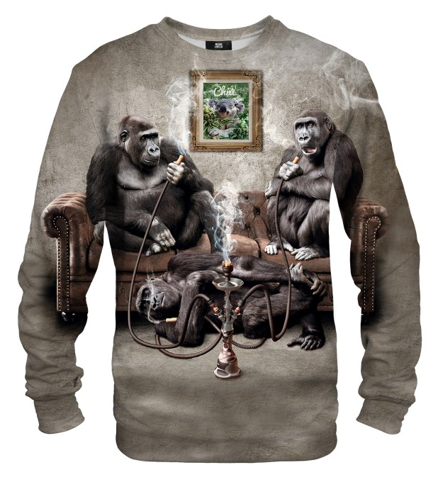 Ape Party sweater Thumbnail 1