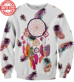 Mr. Gugu & Miss Go, Feathers Dreamcatcher sweater Miniature $i