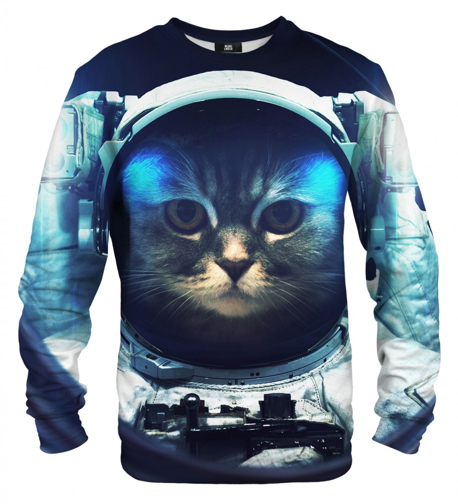 Mr. Gugu & Miss Go, Space Cat sweater Image $i
