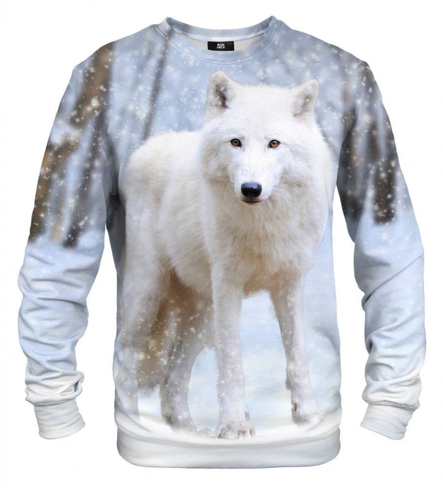 Mr. Gugu & Miss Go, White Wolf sweater Image $i