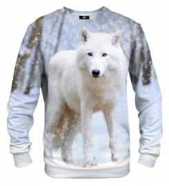 Mr. Gugu & Miss Go, White Wolf sweater Thumbnail $i