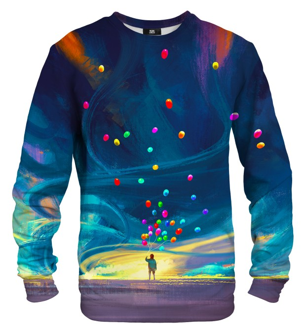Colorful Balloons sweater Miniature 1