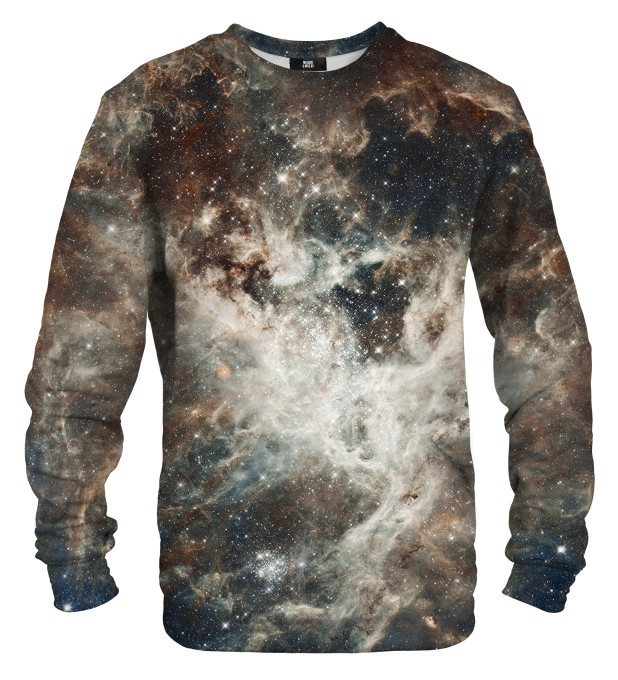 Golden Blue Galaxy sweatshirt Miniaturbild 1