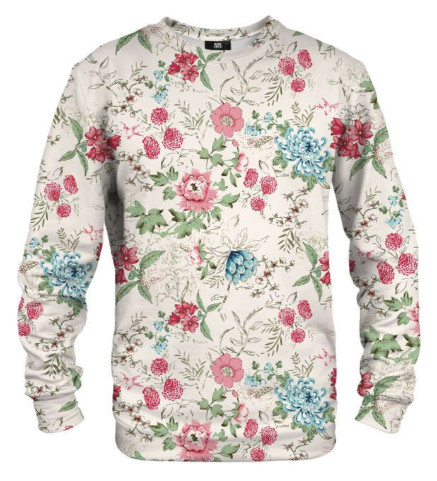 Flowers Sketch sweater Thumbnail 1