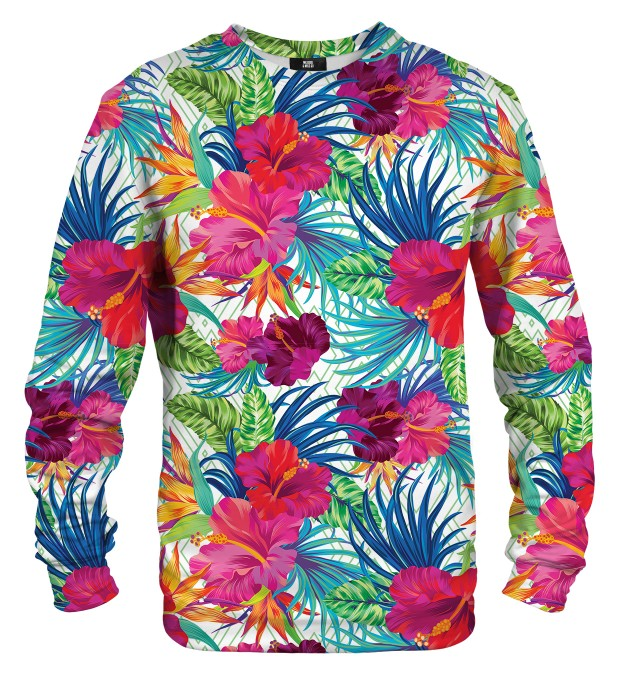 Jungle Flowers sweatshirt Miniaturbild 1