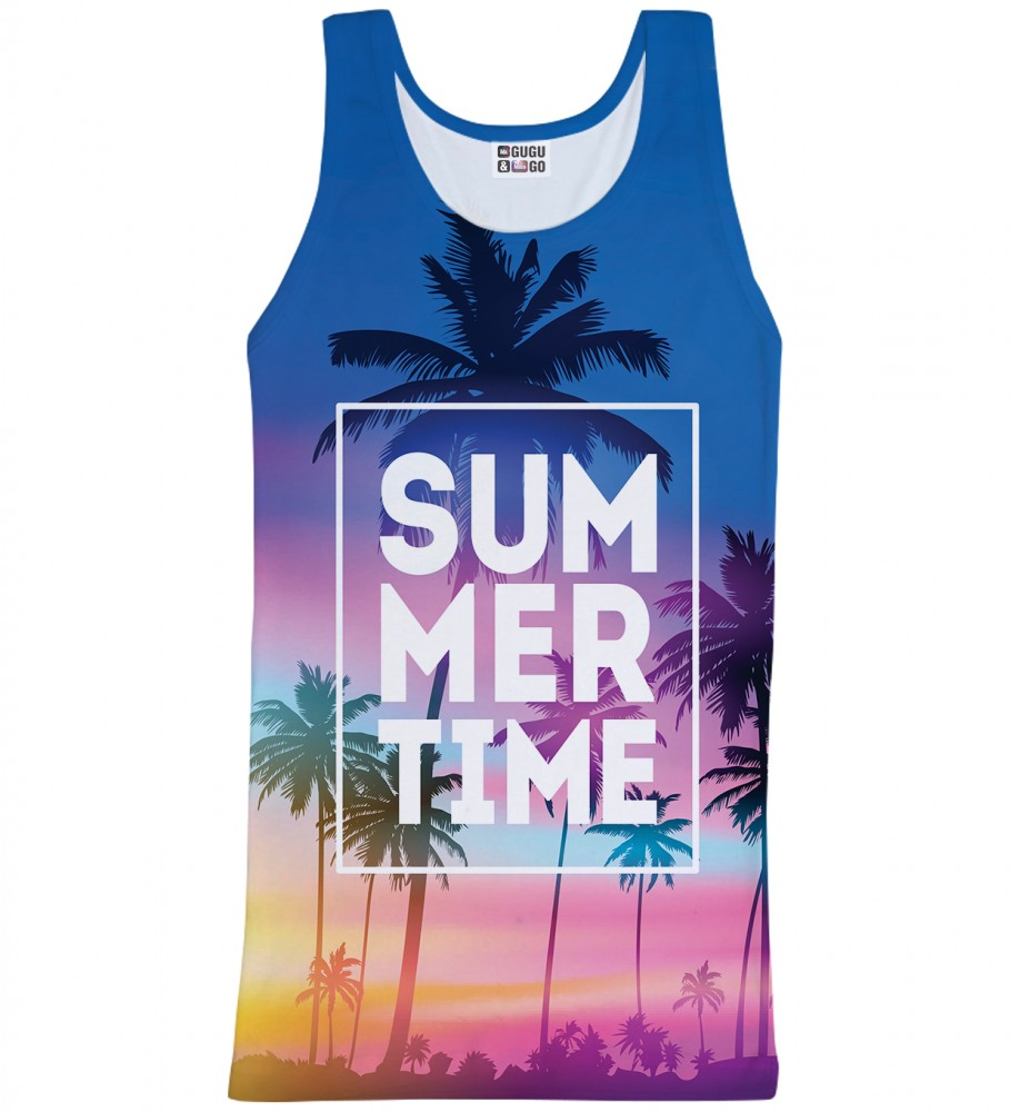 Mr. Gugu & Miss Go, Summer Time tank-top Imagen $i