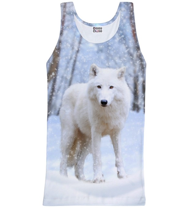 White Wolf tank-top Miniature 1