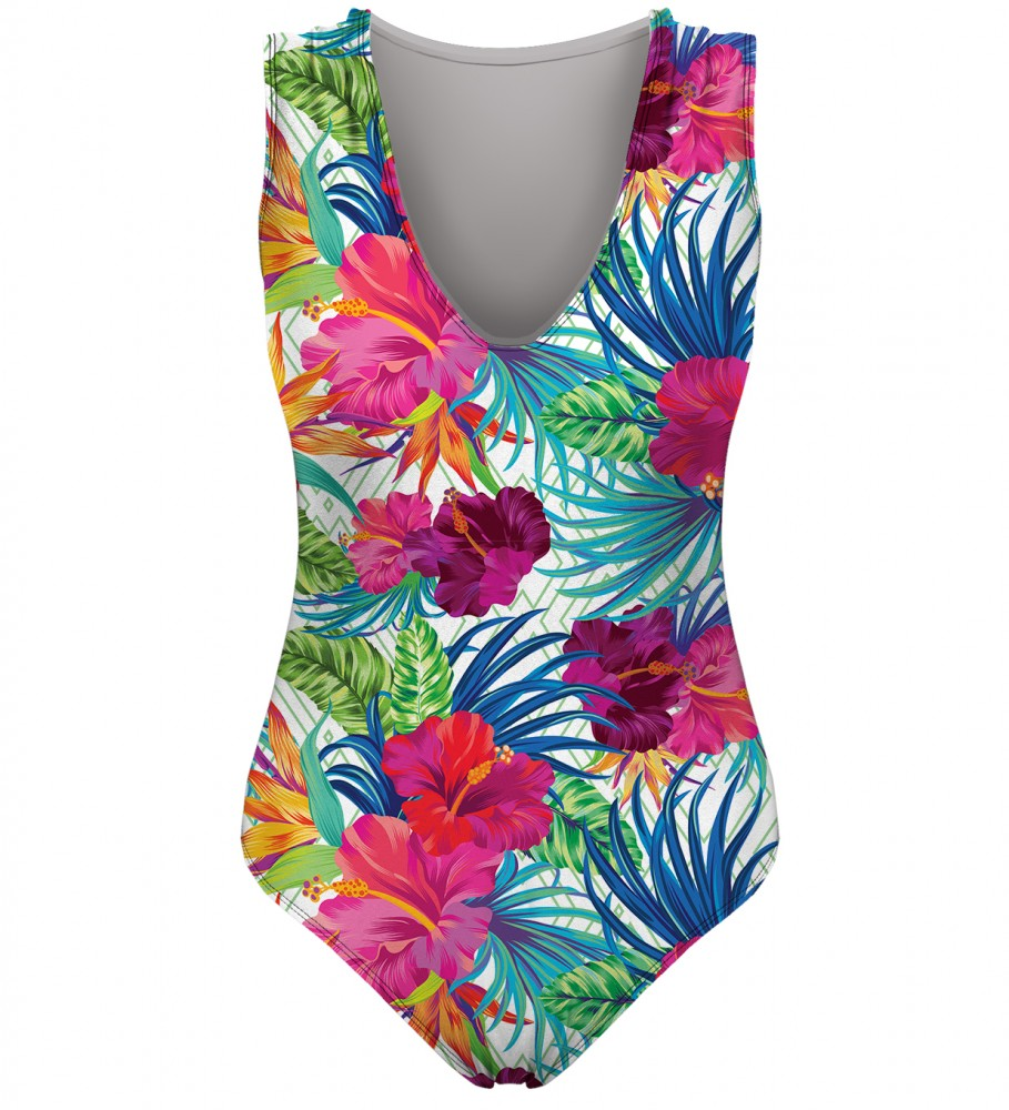Mr. Gugu & Miss Go, Jungle Flowers swimsuit Image $i