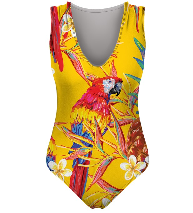 Paradise parrots swimsuit Miniature 1